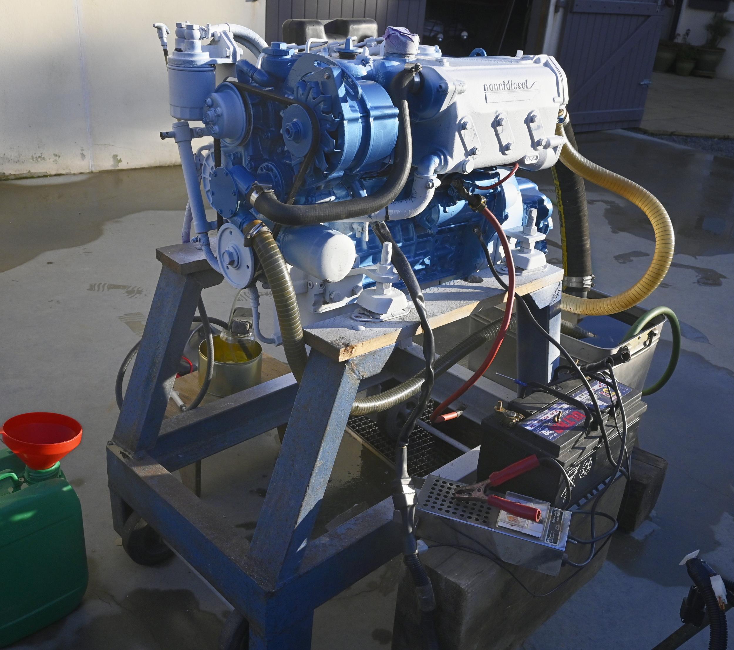 Réfection moteur du Loriot