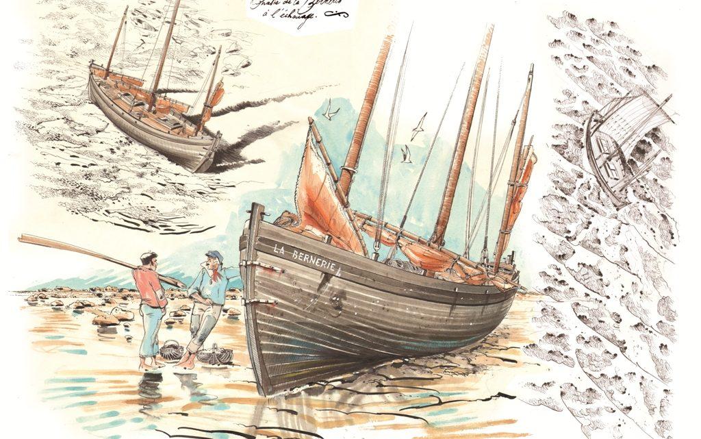 Article de Pauline Dupont dans le Dernier numéro du Chasse-marée N° 323.